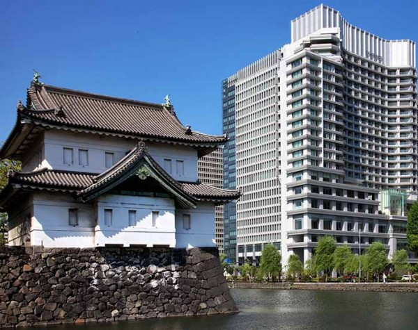 Staying in the Tokyo Palace Hotel in the last days of February 2015