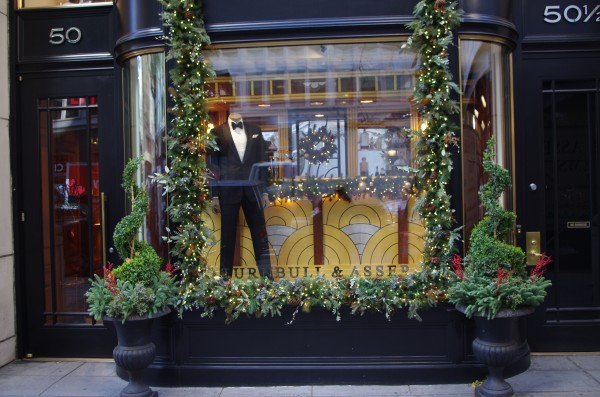 Back to New York on the 18th November: Turnbull & Asser.