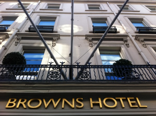 A small private event in the Famous Brown's Hotel in London 27th November